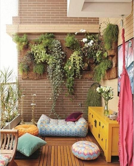 阳台植物巧摆放好风景更有好风水