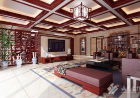 中式三居室